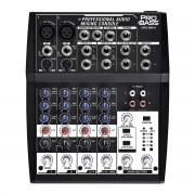 Mesa de Som Analógica Pro Bass PL 804 8 Canais