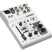 Yamaha AG03 Mesa de Som e Interface de Áudio AG-03 3 Canais para Mixagem de Som