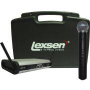 Lexsen LWM 58 Microfone Cardioide Lexsen LWM-58 Uhf Bivolt