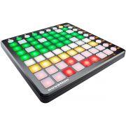 Novation LaunchPad S Controladora DJ e Live 64-Pads Slim Produção Musical Usb