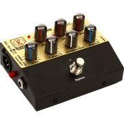 Eden WTDI Pedal para Contrabaixo com Pré Amplificador e Direct Box