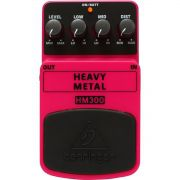 Behringer HM300 Heavy Metal Pedal para Guitarra para Hard Rock e Heavy Metal