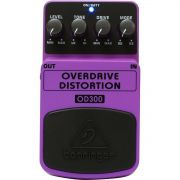Behringer OD300 Overdrive Distortion Pedal para Guitarra