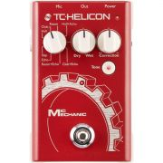 Tc Helicon Mic Mechanic Pedal Tc Helicon Mic Mechanic para Vocal e Estúdio