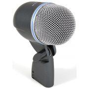 Shure Beta 52A Microfone Shure Beta 52 A para Instrumentos de Percussão