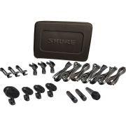 Shure PGADRUMKIT7 Microfones Dinâmicos Kit de Microfones para Bateria Drum Kit 7