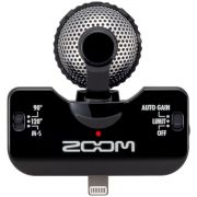 Zoom iQ5 Gravador de Áudio Zoom iQ-5 Microfone Estéreo iPad iPhone iPod Touch