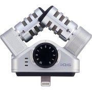 Zoom iQ6 Gravador De Audio Zoom iQ-6 Microfone Condensador XY para iPhone iPad iPod