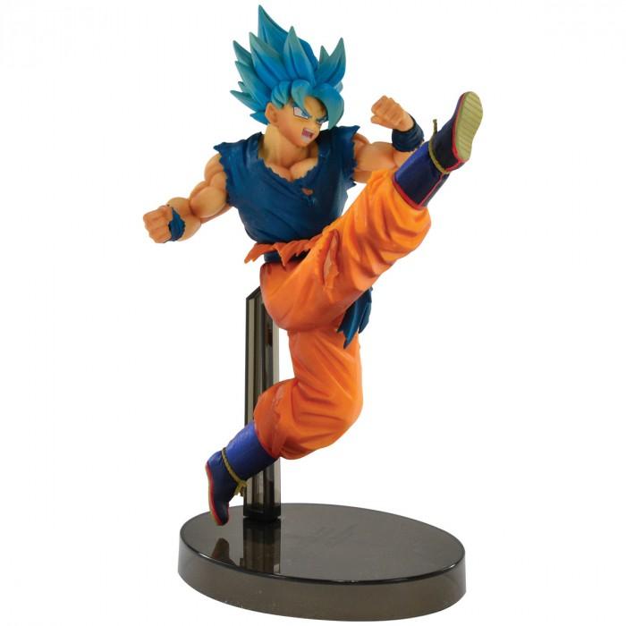 Action Figure Dragon Ball Goku Super Sayajin Blue Z Battle 34852/34853
