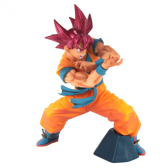 Action Figure Dragon Ball Goku Super Sayajin God Blood Of Saiyans Special VI 29826/29827