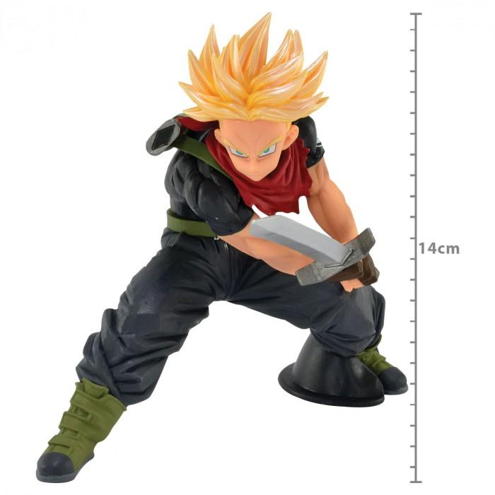 Action Figure Dragon Ball Heroes Trunks Super Sayajin Transcendence Art 30483