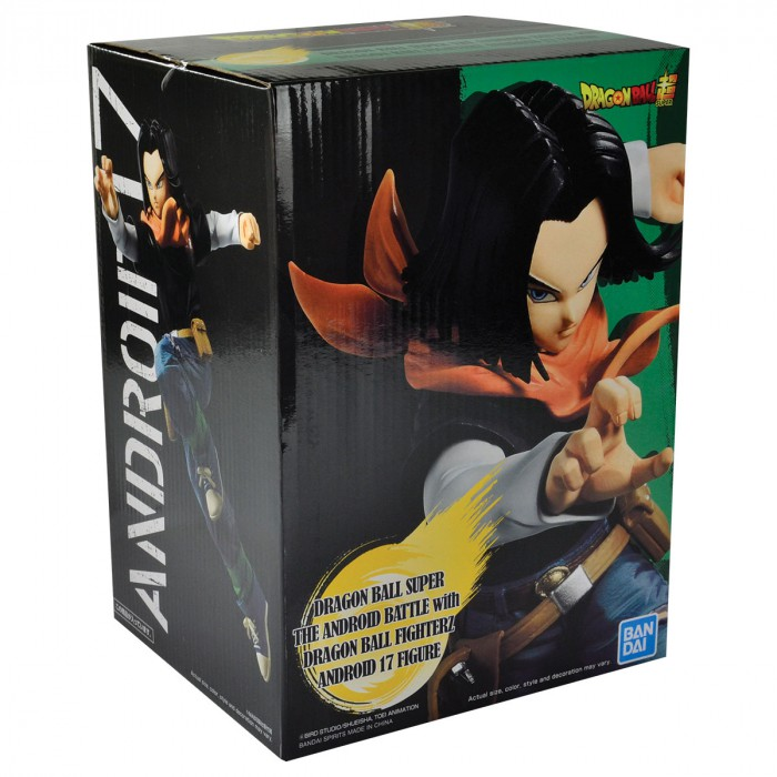 Action Figure Dragon Ball Super Android 17 The Android Battle 29221/29222