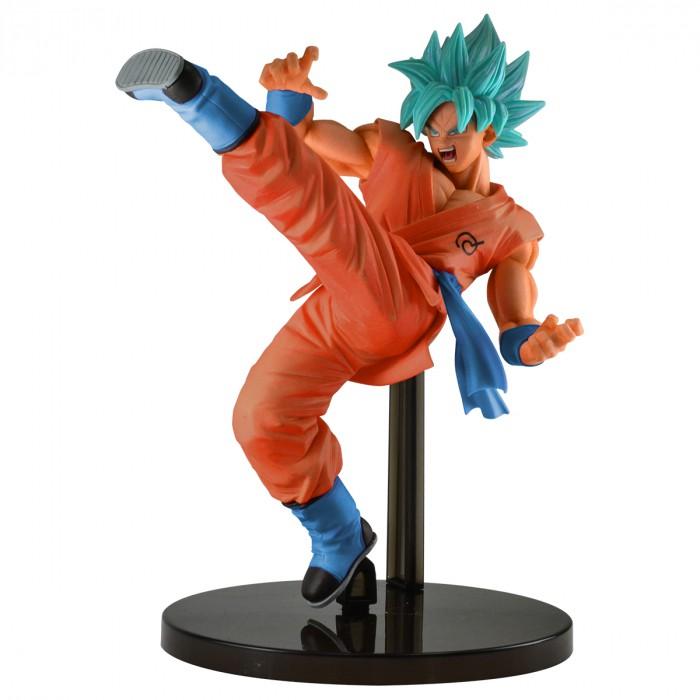 Action Figure Dragon Ball Super Goku Super Sayajin Blue 27818/27819