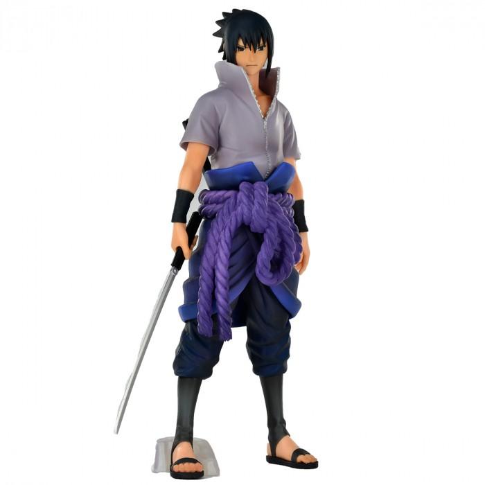 Action Figure Naruto Shippuden Sasuke Uchiha Grandista Nero 20717/20718