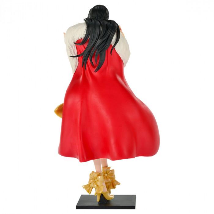 Action Figure One Piece Boa Hancock Amarela  Glitter e Glamours Christmas Style 28420/28421