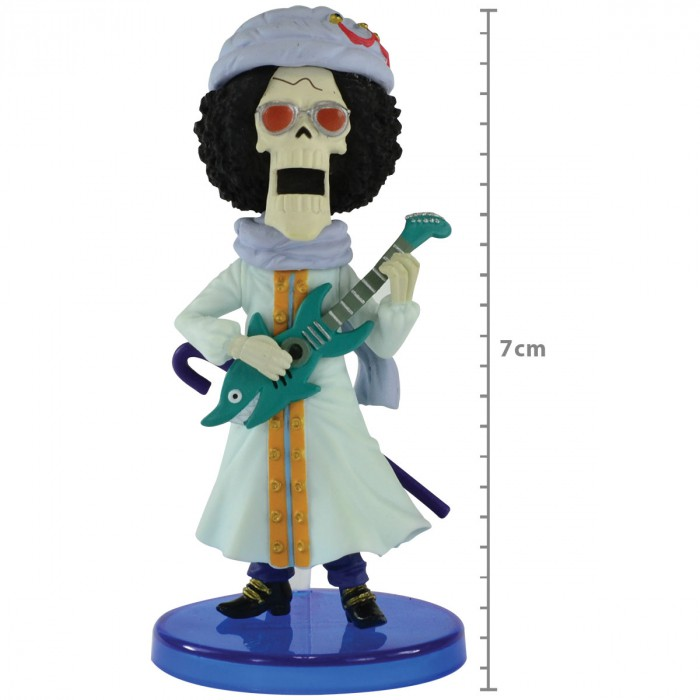 Action Figure One Piece Brook Hallcake Island WCF 26861/26865