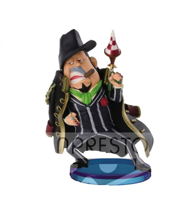 Action Figure One Piece Capone Bege Hallcake Island WCF 28347/28353