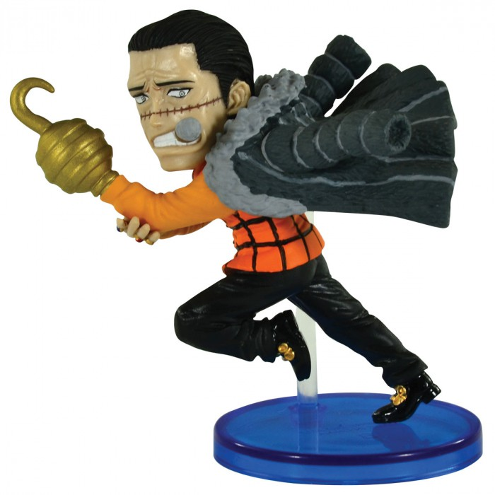 Action Figure One Piece Crocodile History Relay 20Th WCF 26628/26630