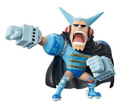 Action Figure One Piece Franky Mugiwara WCF 27938/27942