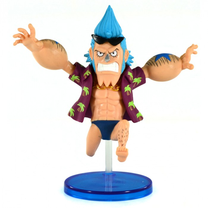 Action Figure One Piece Franky WCF History Relay 20Th 26628/26633