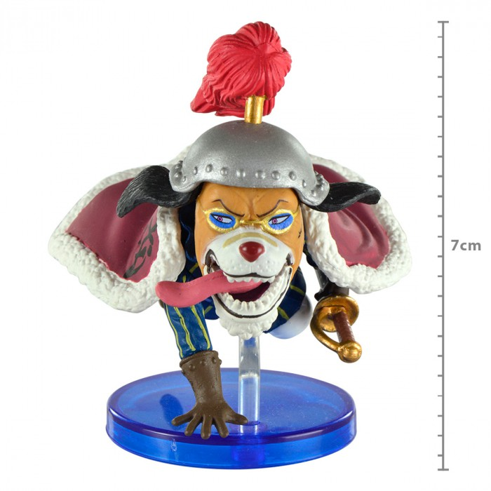 Action Figure One Piece Inauarashi Oriental Zodiac WCF 28965/28970