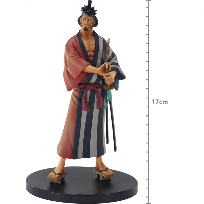 Action Figure One Piece Kin Emon Dxf The Grandline Men Saga De Wano 20395/20396