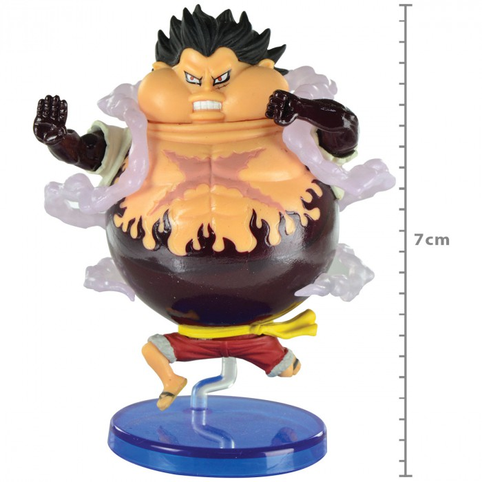 Action Figure One Piece Luffy Battle Of Luffy Whole Cake Island WCF 29288/29289