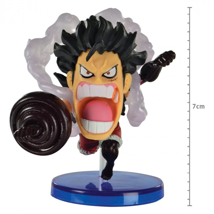 Action Figure One Piece Luffy Snake Man Battle Of Luffy Whole Cake Island WCF 29288/29294