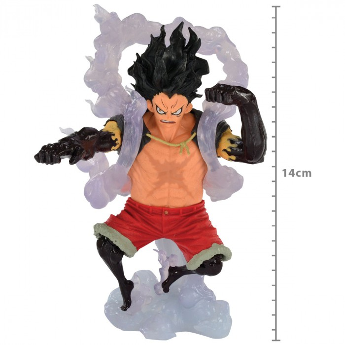 Action Figure One Piece Monkey D Luffy Snake Man King Of Artist 34633/34634