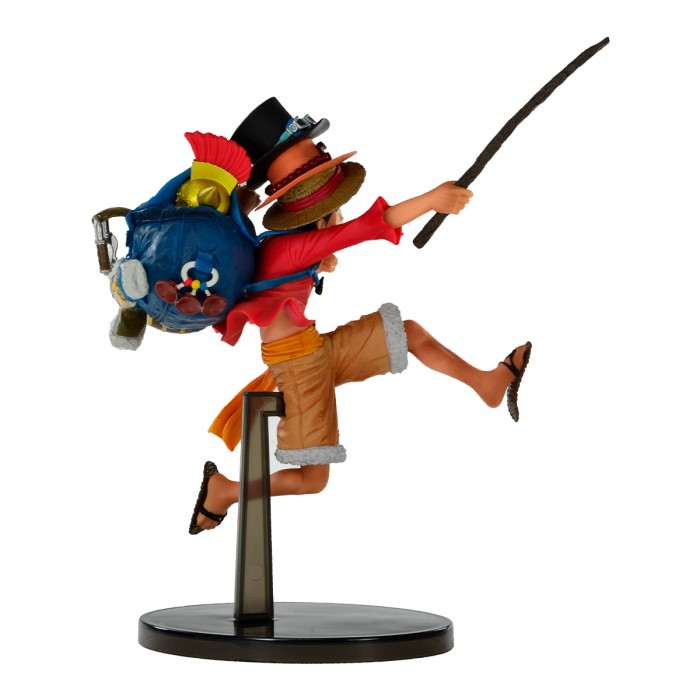 Action Figure One Piece Monkey D Luffy Three Brothers 20742/20743