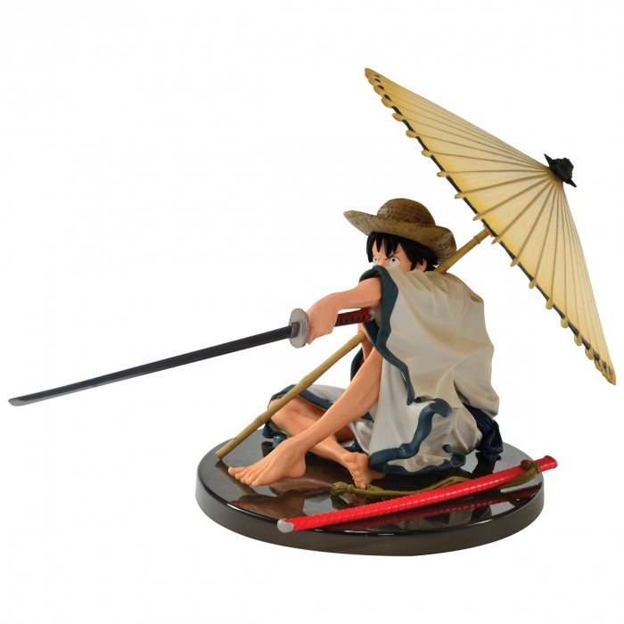 Action Figure One Piece Monkey D Luffy World Colosseum 2 34938/34939