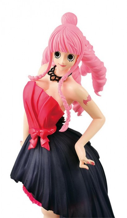 Action Figure One Piece Perona Noiva Rosa Lady Edge Wedding 28345/28346