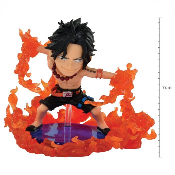 Action Figure One Piece Portgas D Ace Burst WCF 29479/29481