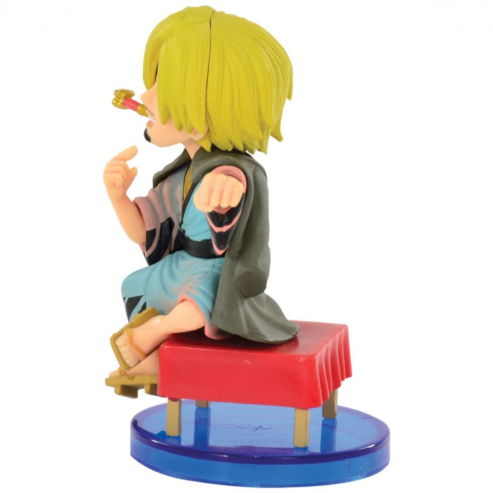 Action Figure One Piece Sanji Japanese Style WCF 34637/34640