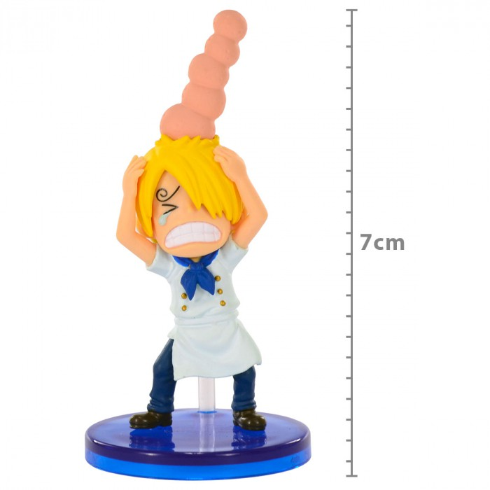 Action Figure One Piece Sanji Machucado 28535/28537