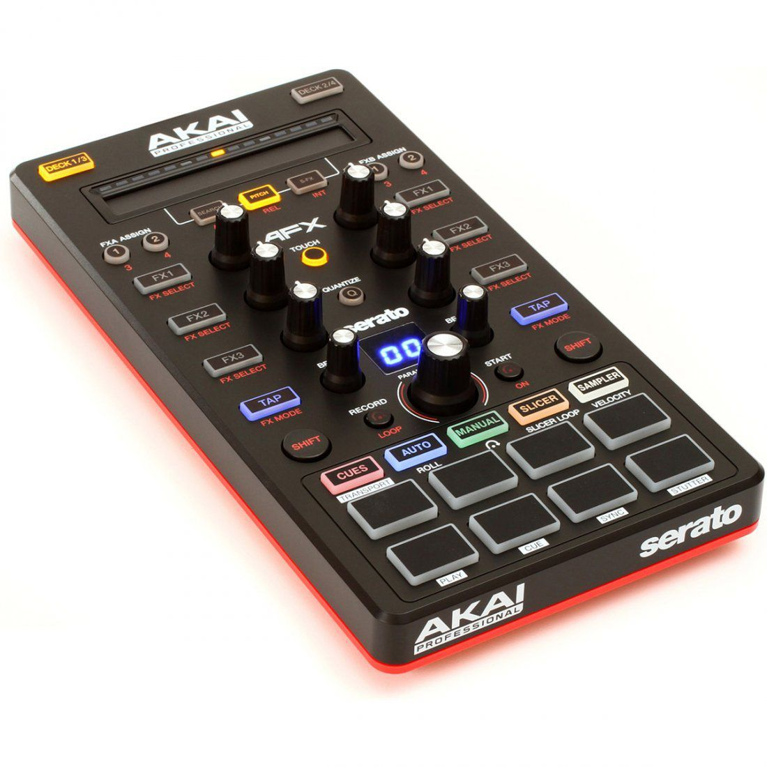 Akai AFX Controladora Dj 4-Decks 8-Pads Serato Dj