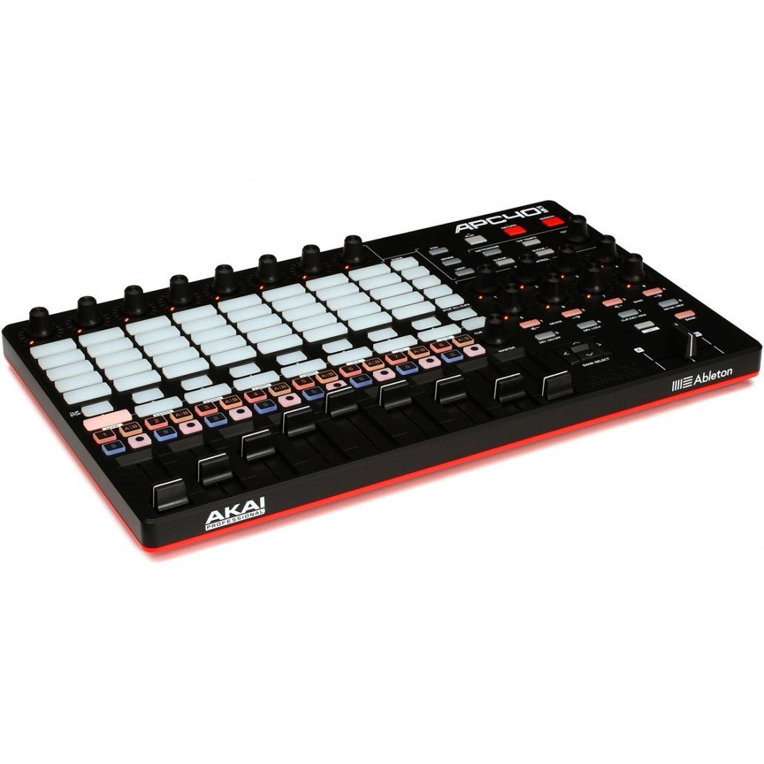 AKAI APC40 MKII Controladora APC 40 5x8 Pads 9 Faders Produção Musical Ableton Live