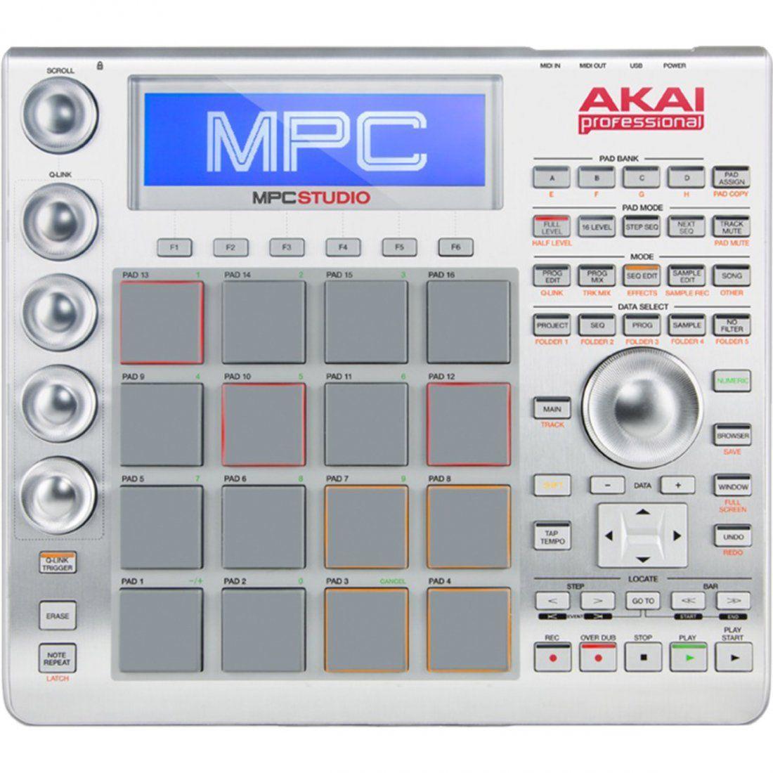 Akai MPC Studio Sampler MPC Studio Drum Machine 16 Pads