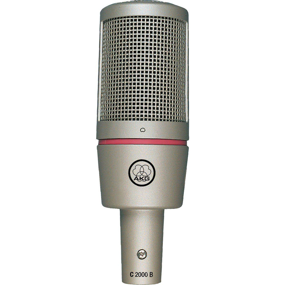 Akg C2000 B Microfone Cardioide Condensador Akg C2000-B de Baixo Ruído para Gravação