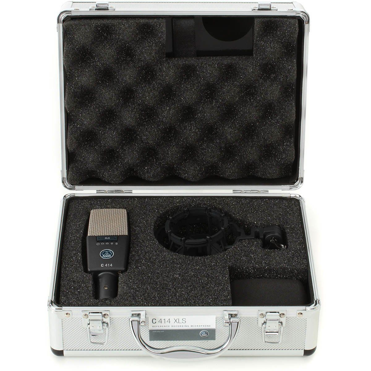 Akg C414 XLS Microfone Condensador Akg C414-XLS Diafragma Grande Versátil