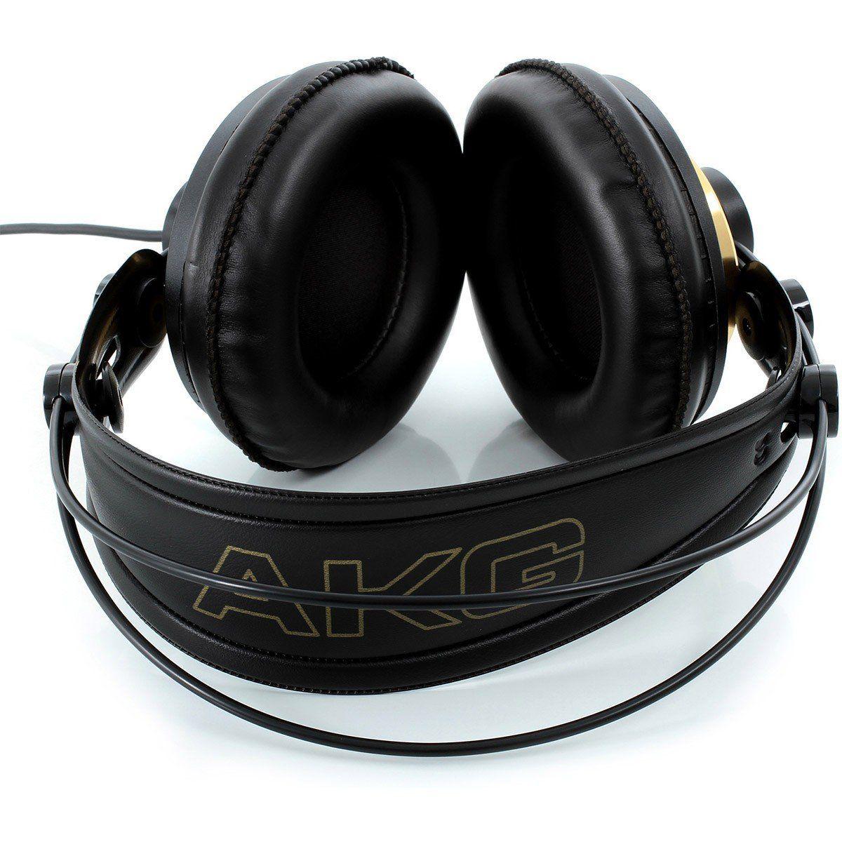 Akg K240 Studio Fone de Ouvido K-240 Studio Semi-Aberto para Estúdio e Dj