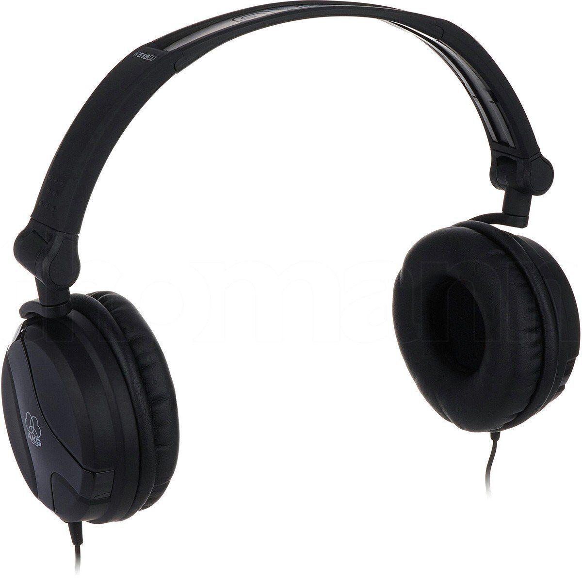 Akg K518 DJ Fone de Ouvido K-518 DJ Fechado para Mixagem e Monitoramento