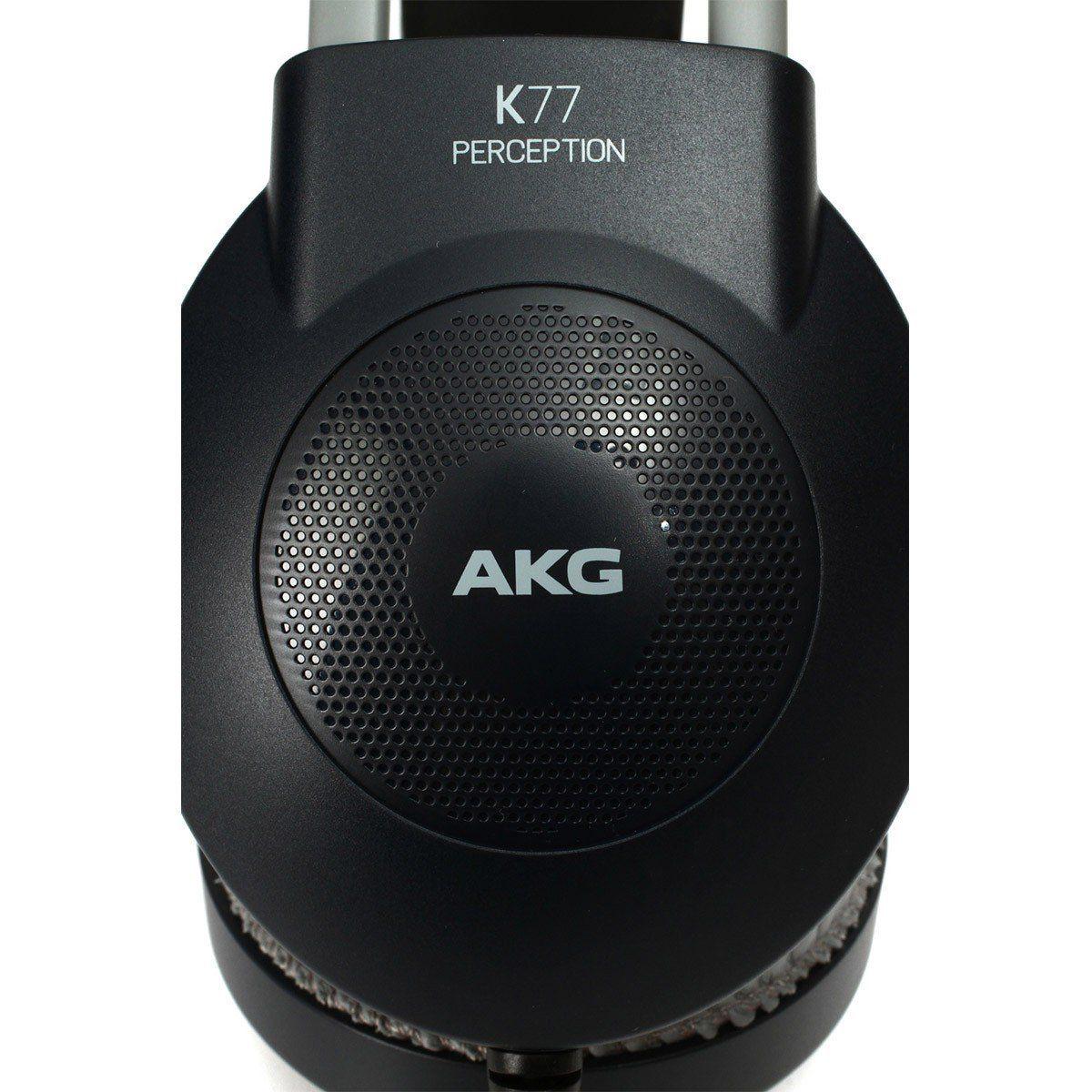 Akg K77 Fone de Ouvido K-77 Semi-Aberto para Home Studio e Uso Casual