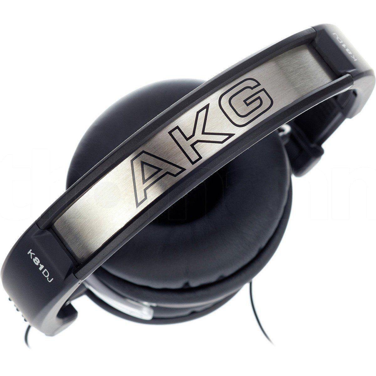 Akg K81Dj Fone de Ouvido K-81 Dj Fechado para Dj Profissional e Estúdio