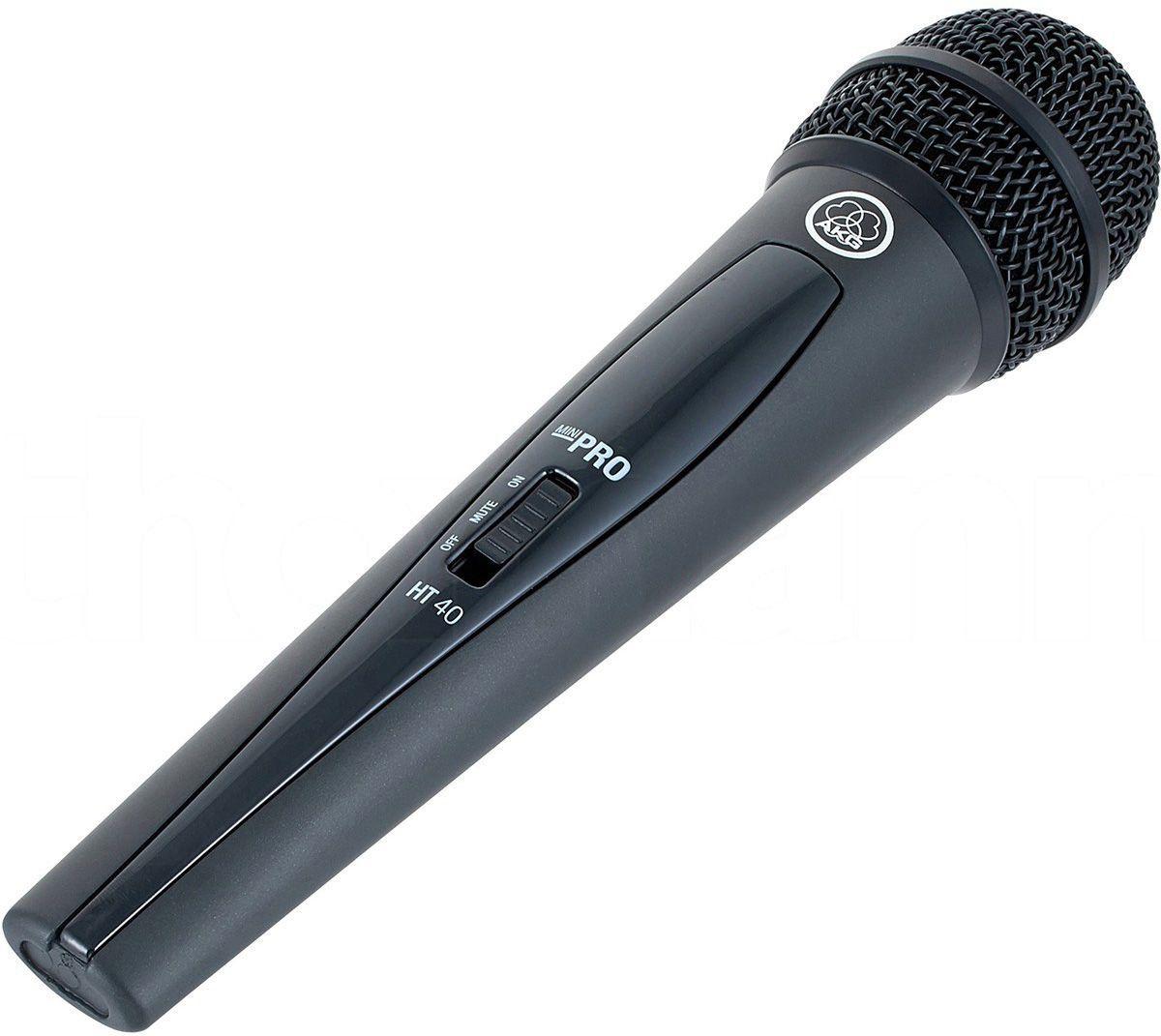 Akg WMS40 Mini Single Vocal Set Microfone Sem Fio Akg WMS-40 Mini Single Vocal Set