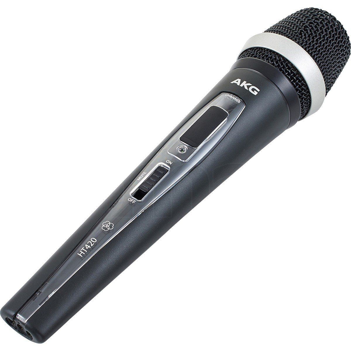 Akg WMS420 Single Vocal Set Microfone Sem Fio Akg WMS 420 Single Vocal Set