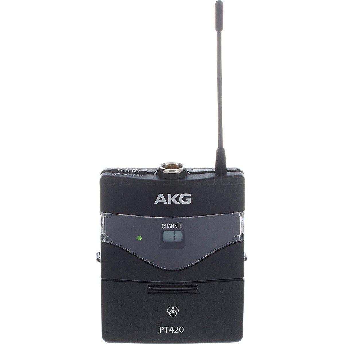 Akg WMS420 Single Headset Microfone Sem Fio Akg WMS 420 Single Headset