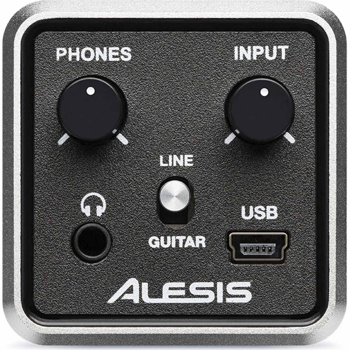 Alesis Core 1 Interface de Audio Core1 Portátil 1x1 Grava Voz ou Instrumento Cubase