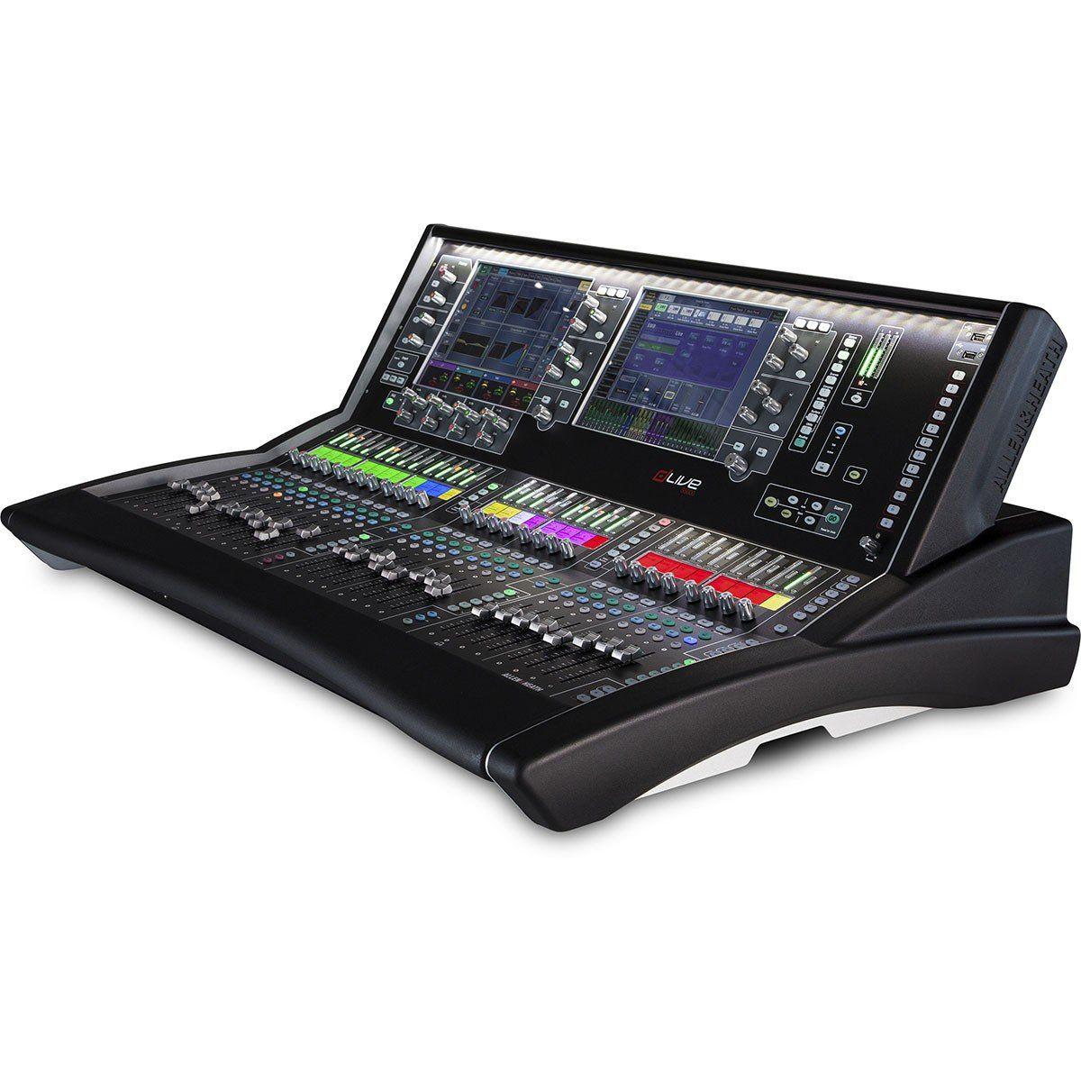 Allen Heath dLive S5000 Mesa de Som S-5000 128 canais para Mixagem e Estúdio