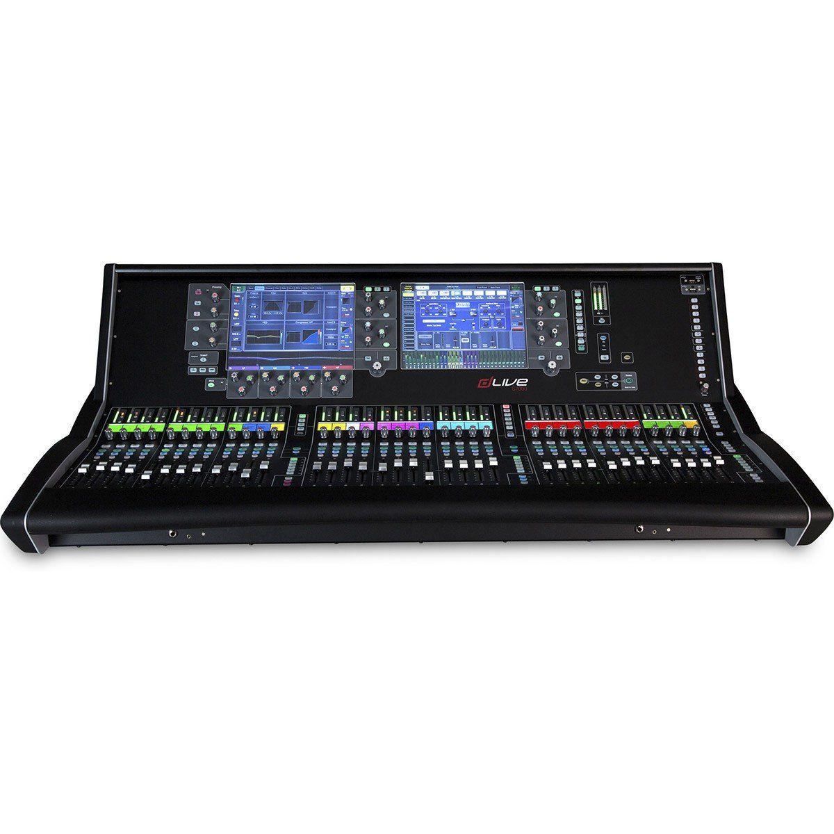 Allen Heath dLive S7000 Mesa de Som S-7000 128 Canais para Estúdio e Gravação